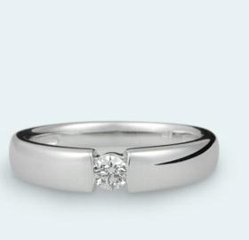 Diamantringe weißgold  Solitaer-Kollektion | Juwelier Bonkhoff in Homburg-Saarland